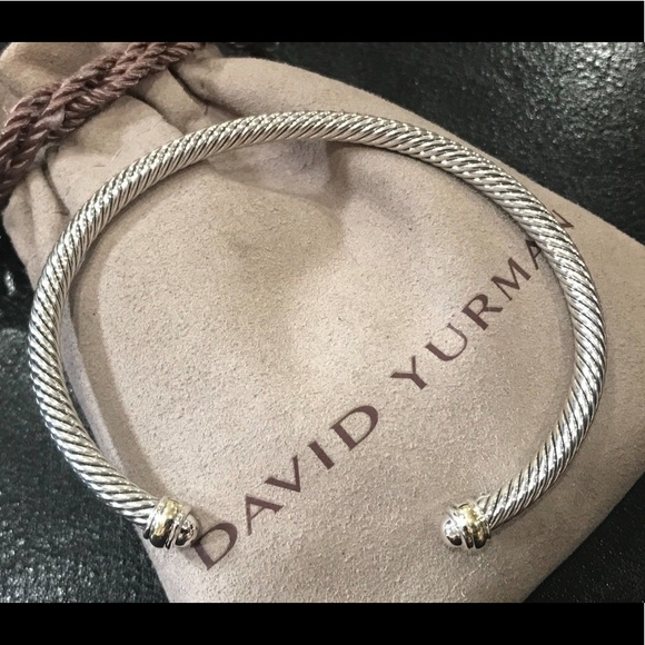 a8b1b0693670d4 David Yurman Jewelry | 4mm Cable Classic Bracelet 18k Gold | Poshmark